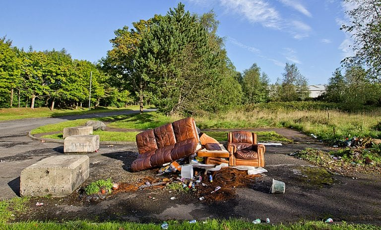 Fly-tippers continue to cause an eyesore across district