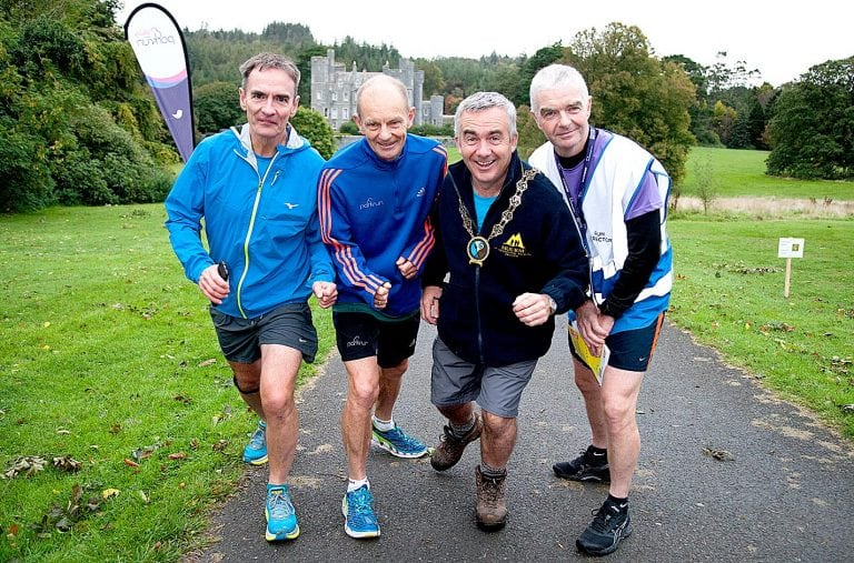 Castlewellan parkrun is a runaway success!