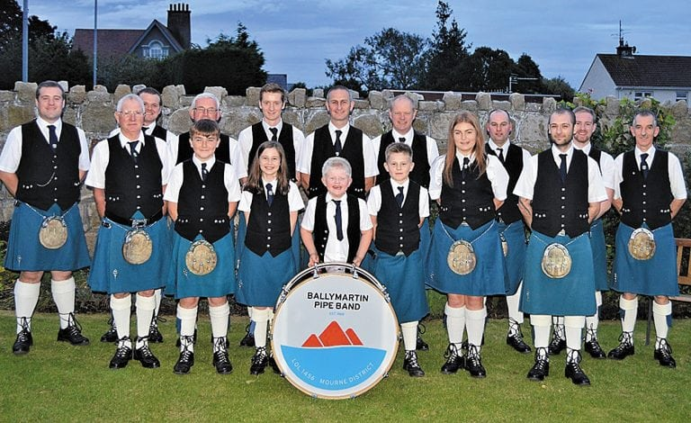Pipe band marks 50th anniversary