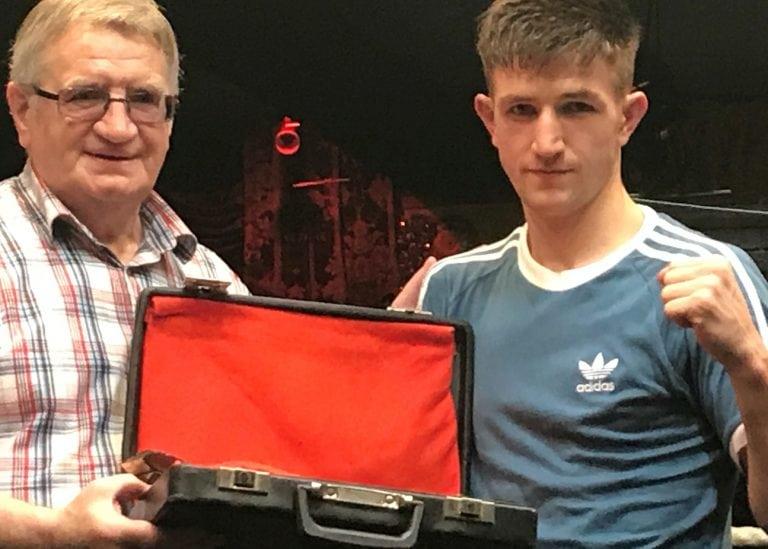 Local boxer wins Ulster Senior title