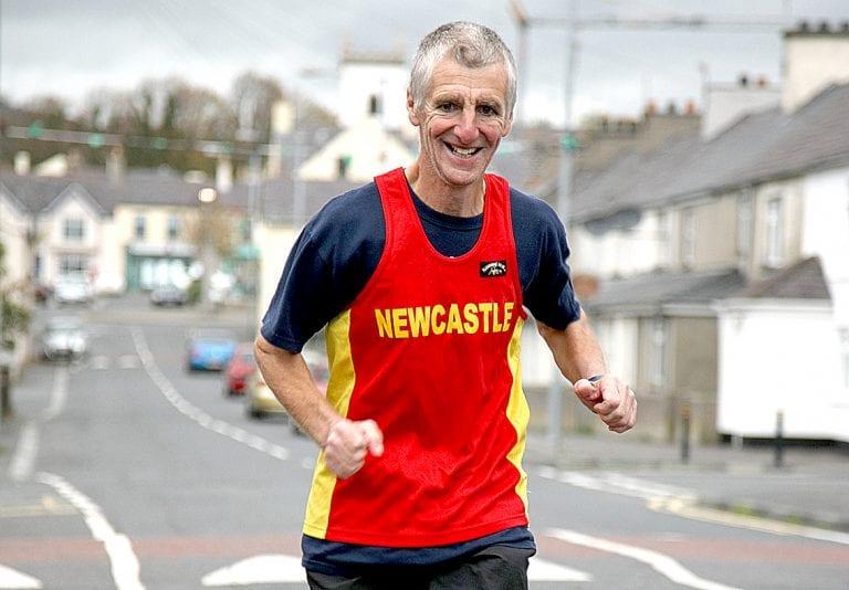 Charlie is running the Dublin marathon for Cancer Focus NI