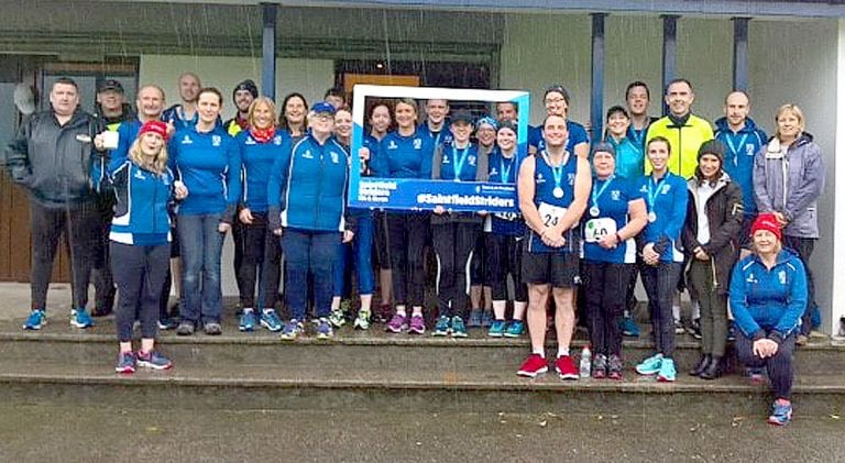 Striding out in Saintfield for club's second anniversary races