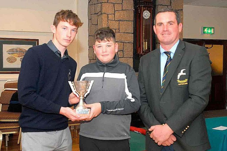 Mourne club salutes their most successful Junior golfers of the year
