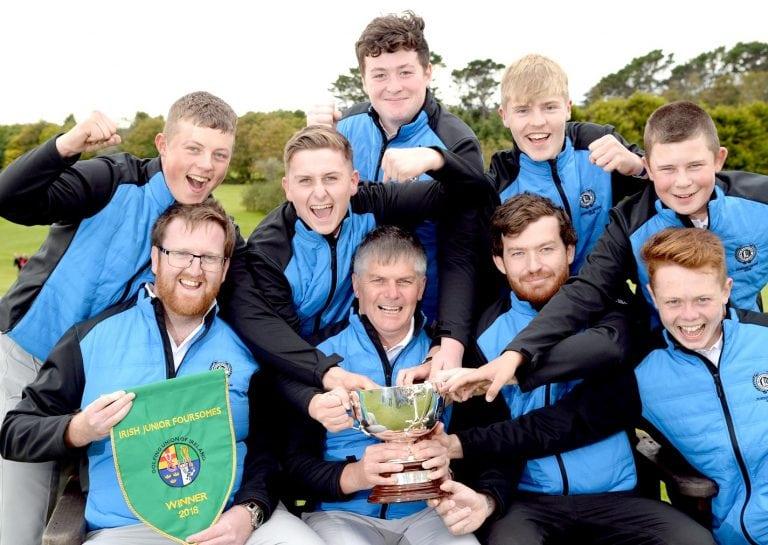 Warrenpoint are Irish Junior Foursomes champions