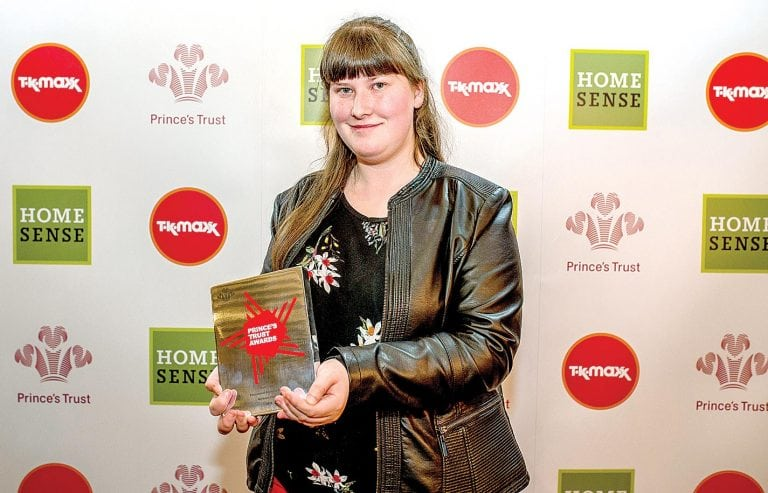 Kilkeel teenager wins Prince's Trust award