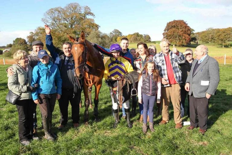 Treble for Cabra jockey McParlan at Moneyglass