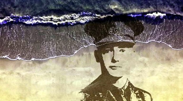 Murlough beach portrait to remember Dundrum soldier on Armistice Day
