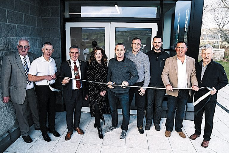 Impressive community facility for Kilcoo is officially opened
