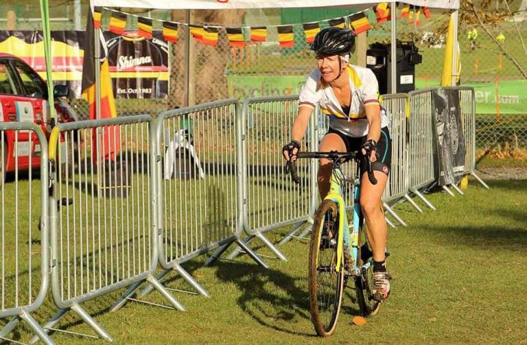 Dromara CC members in Newcastle for cyclo-cross event