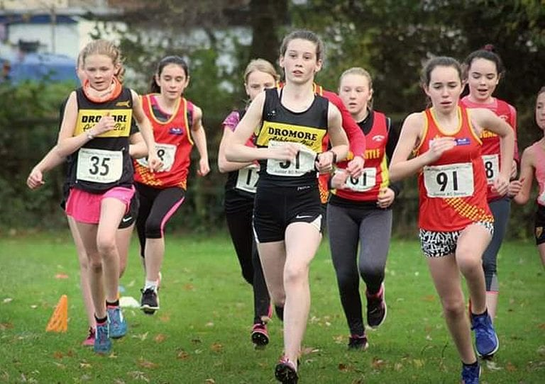 Race day three in Junior cross country series