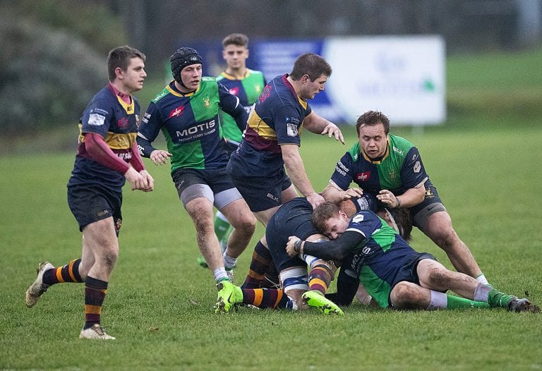 Ballynahinch relief as they secure a one point victory over derby rivals Banbridge