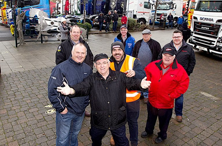Funds raised for a very special cause at annual Castlewellan Truck Show