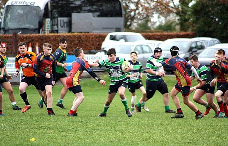 Young Hinch side runs up a 10 try victory and remain unbeaten
