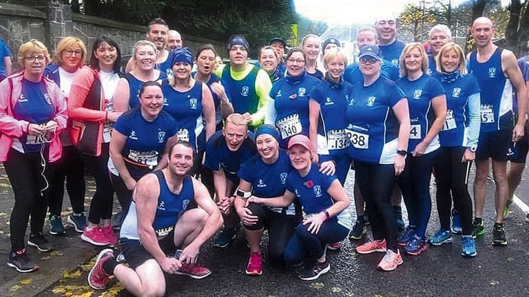 Runners remember as they flock to Ballynahinch on race day