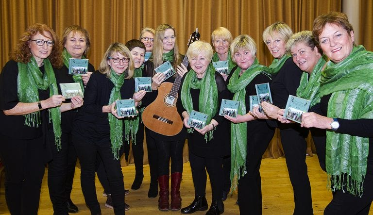 Choir's debut CD shines a light on folk songs from across the county