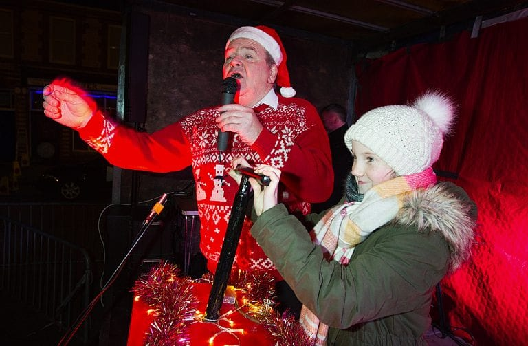 Towns and villages across the district host Christmas light switch-on events