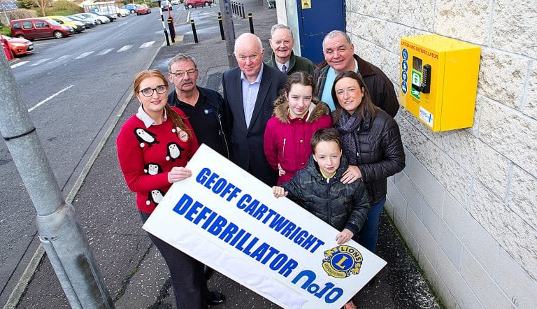 New defibrillator to help save lives in Newcastle