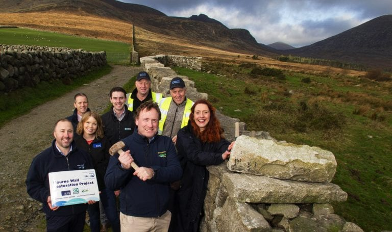 Repairs to Mourne Wall are completed ahead of schedule