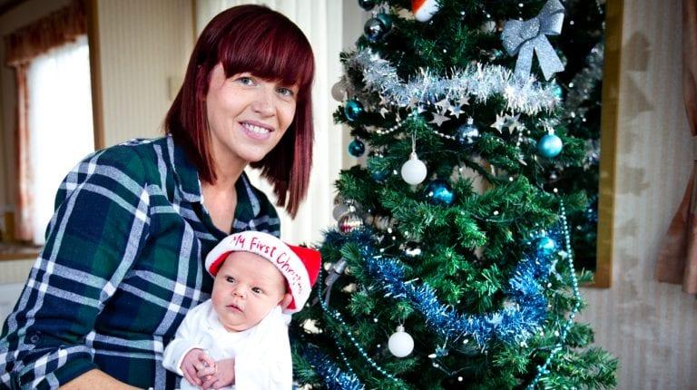 Christmas joy for families