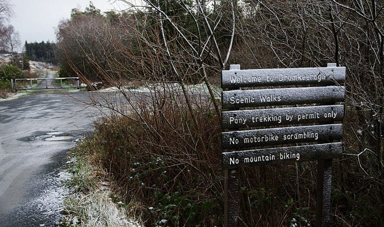 Slieve Croob trails move one step closer