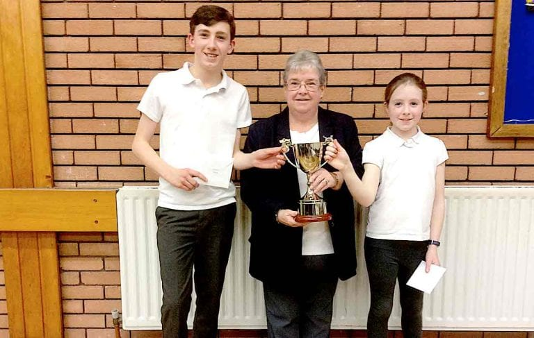 Killyleagh bowler wins singles cup at Mid Down zone finals in Killinchy