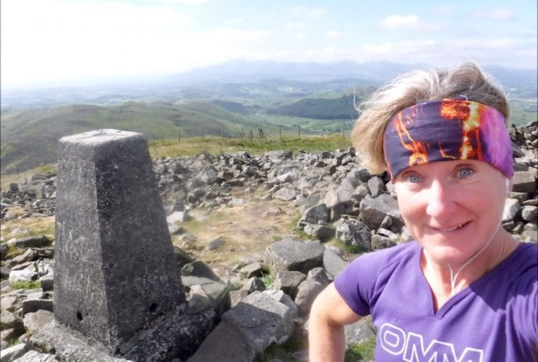 A summit a day the Slieve Croob way!