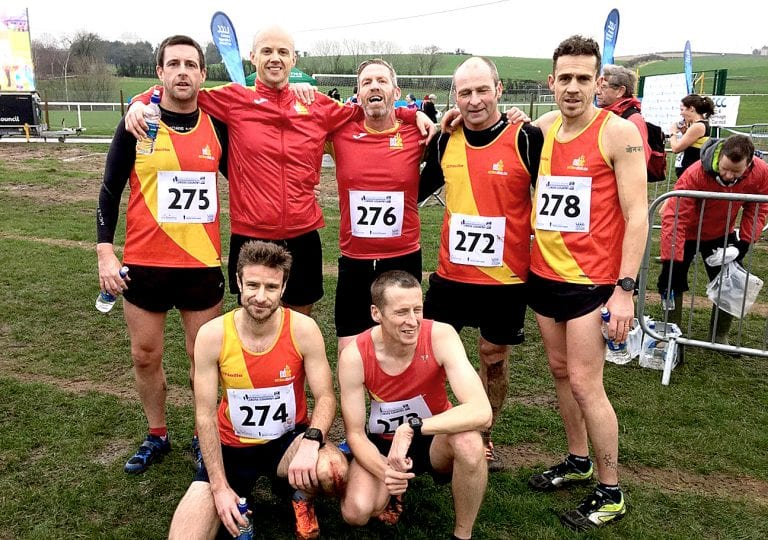 East Down club well represented at international cross country meet