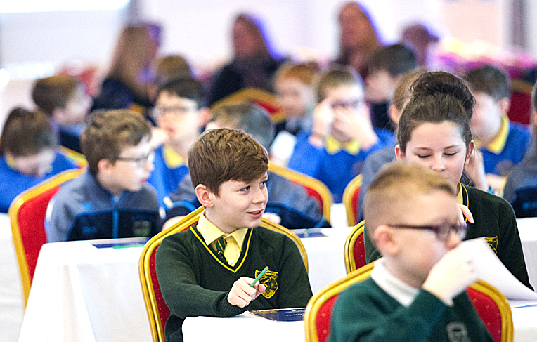 Pupils put their knowledge to the test at road safety quiz