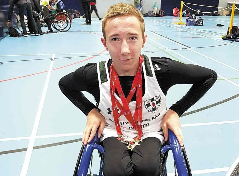 Dundrum wheelchair athlete selected for Paralympic Development Academy