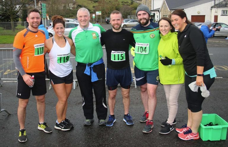 Burren Townlands Runs and the Turkey Trot take place