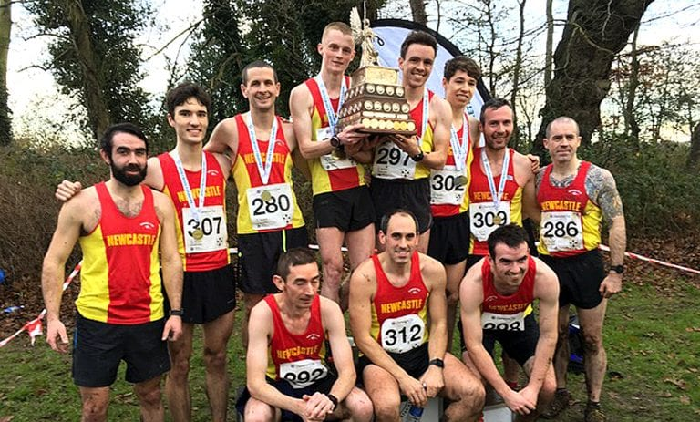 Newcastle and East Down runners pick up cross country team trophies