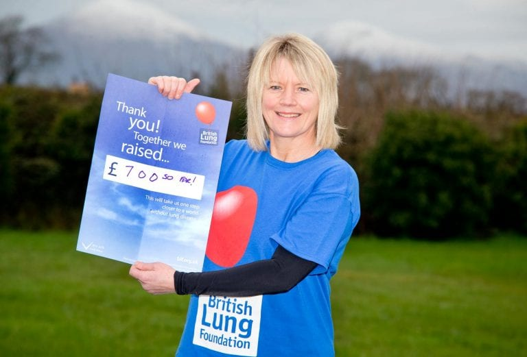 Charity skydive in memory of mother