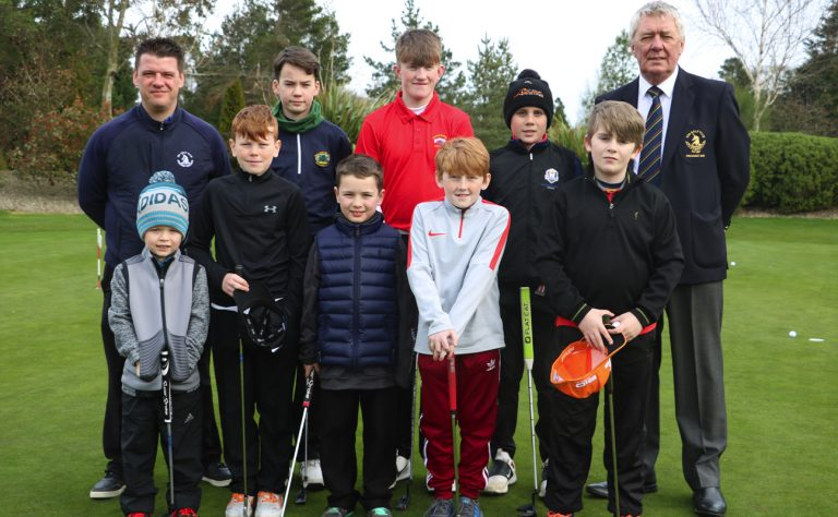 Kids as young as five tee off in Irish Junior Mid Term Open tournament at Spa club