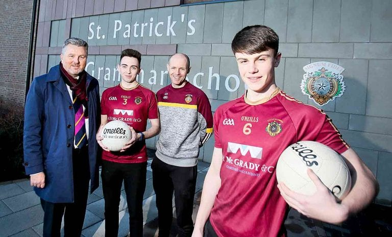 Red High Gaelic football team gets company boost as they receive sponsored kit