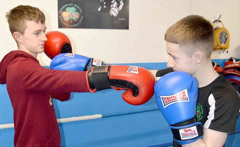 All Blacks boxer's punching power secures Down/Armagh title in pulsating bout