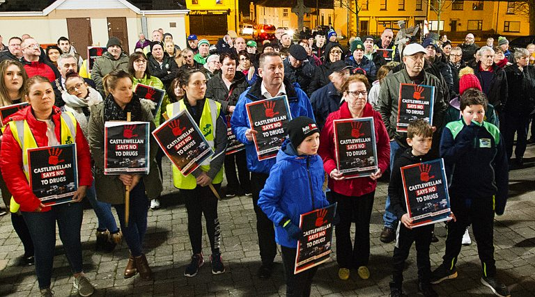 Castlewellan residents say 'NO' to drugs