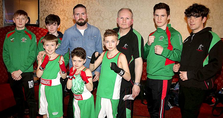 St Bronagh's welcome boxers from neighbouring clubs to their tournament