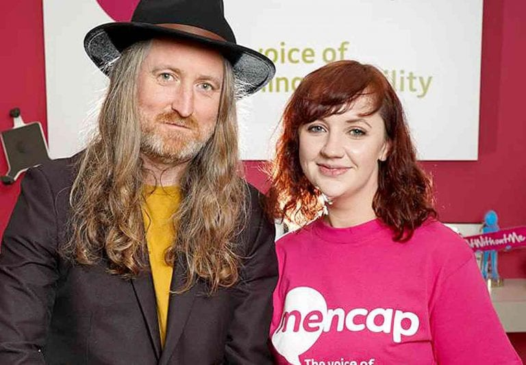 Newcastle musician named as ambassador for Mencap NI
