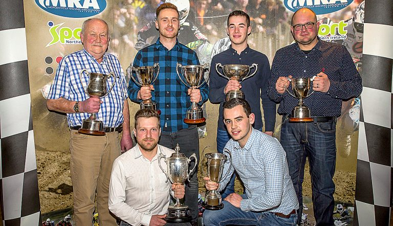 Mourne MCC salutes their most successful riders of 2018