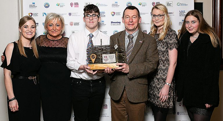 Award winners are praised for making area cleaner and greener