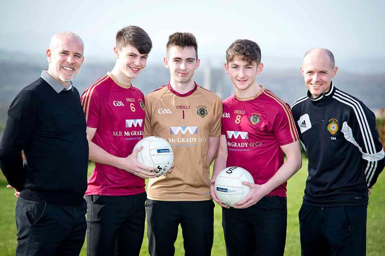 St Patrick's Grammar School, Downpatrick, is counting down to Monday's MacLarnon Cup final