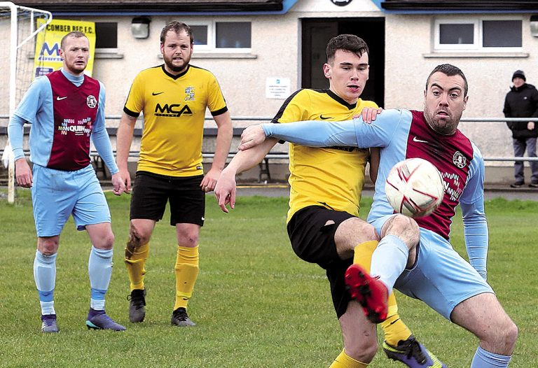 Ballynahinch Olympic through to semi-finals of Clarence Cup