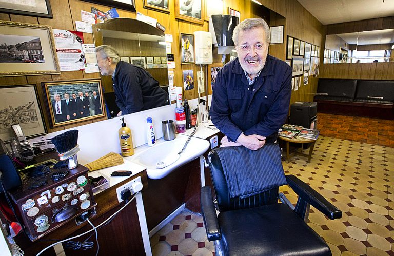Barber prepares to retire after six decades in the business