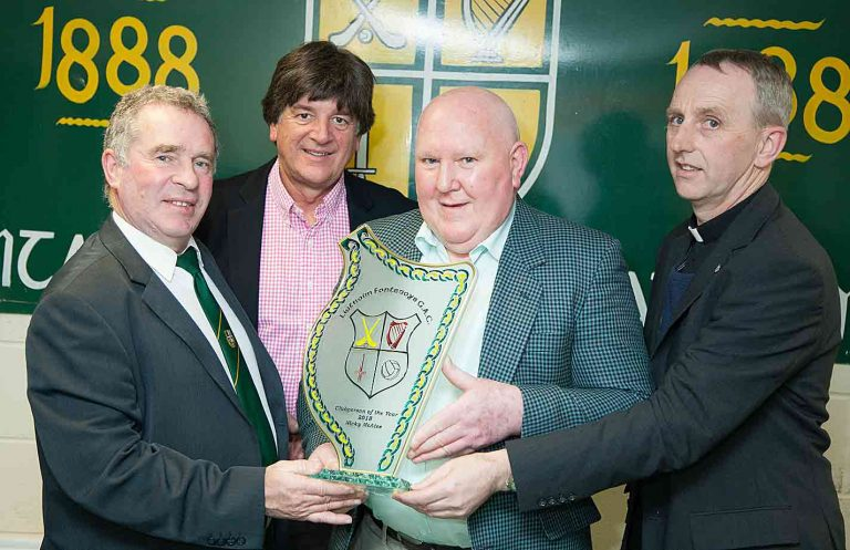 The Liatroim club's annual award winners include Nicky McAtee who was named Clubman of the Year