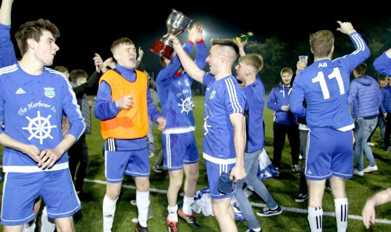 Annalong beat Gilford Crusaders in Beckett Cup final