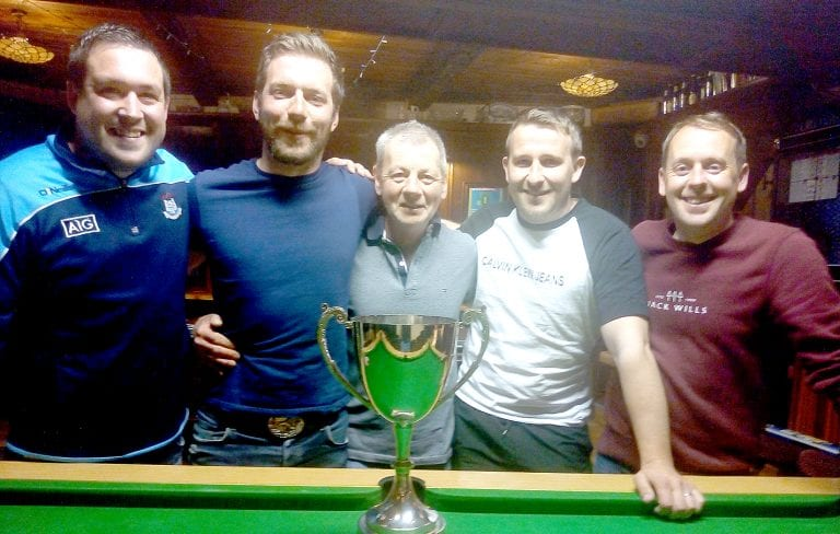 Castlewellan Pool League holds finals and presents end of season awards