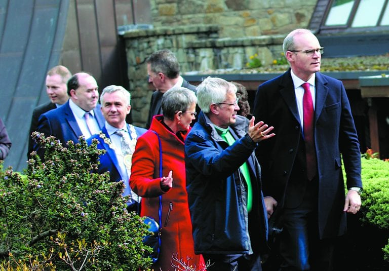 St Patrick is the focal point for Tánaiste's visit to Downpatrick
