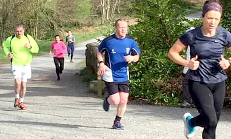 Castlewellan Parkrun is on a run