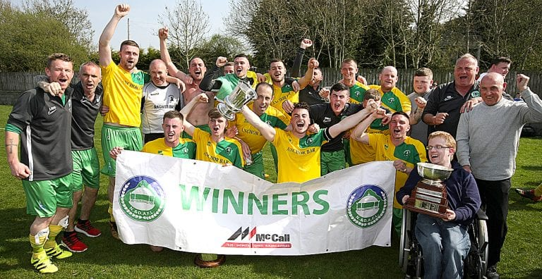 Killough pick up the Harry Clarke Cup on Easter Monday