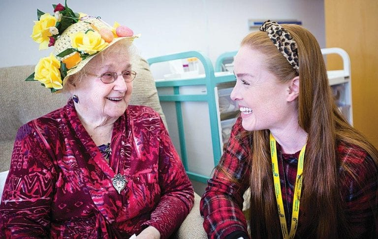 Day hospice is a place of friendship, compassion and support